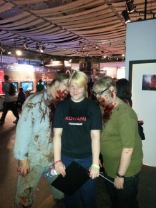 Me being eaten by the Zed zombies